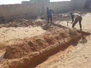 Erfreuliche Nachrichten von unserer Schule in Tine: Neubau von Klassenräumen dank Spenden von Darfuris, die in vielen Ländern der Welt verstreut leben