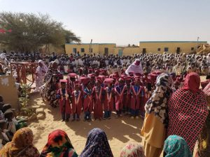 Einschulungsfeier an unserer Schule in Tine- viele Kinder aus dem Kindergarten wechseln zur Schule